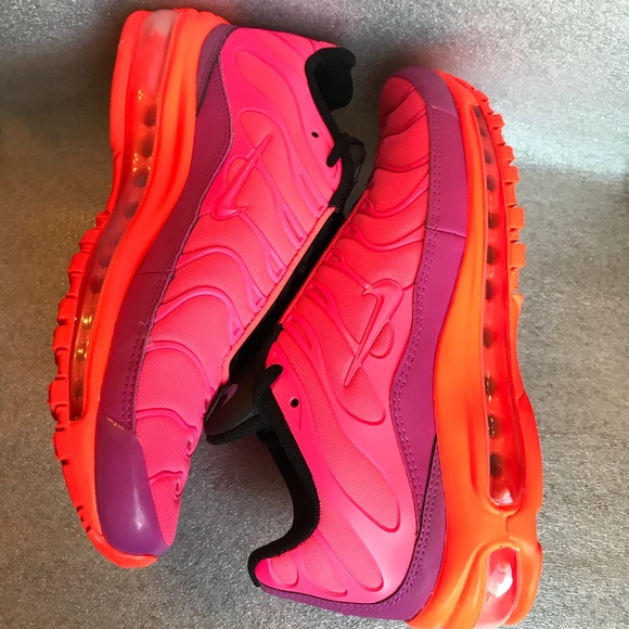 new concept 4a7e7 30d95 Nike Air Max 97 Plus Racer Pink Hyper Magenta NWT